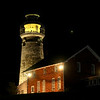Jonathan Tressler - The News-Herald <br> A quiet night on the Northcoast, near the Fairport Harbor Marine Museum and Lighthouse, is documented in this July 27 image.