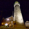 Jonathan Tressler - The News-Herald <br> Another late-night view of the Fairport Harbor Marine Museum and Lighthouse from July 27.