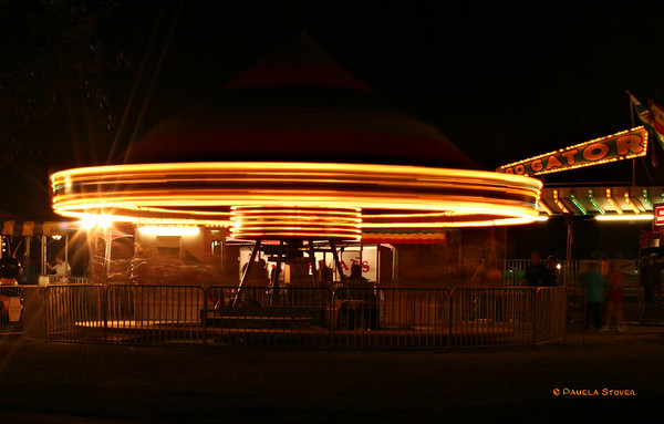 Merry Go-around<br /> © Pamela Stover<br /> Exposed Images Photography