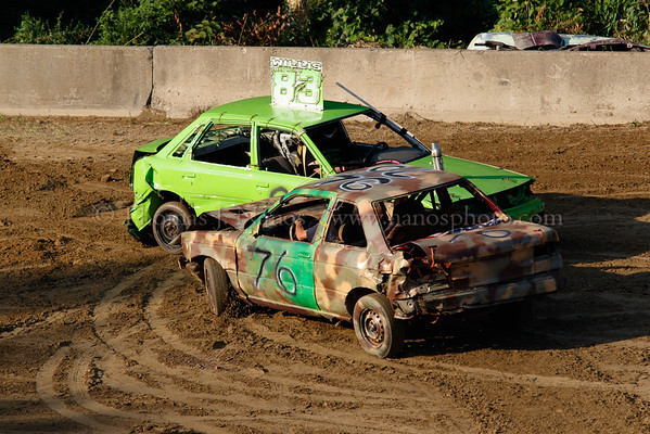 Lebanon Fair Day 2 - Demolition Derby