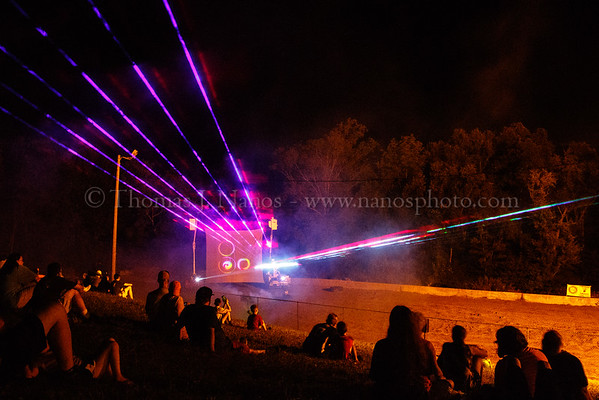 Lebanon Fair Day 2 - Laser Light Show