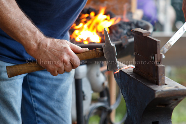 Lebanon Fair Day 2 - Blacksmith Demos