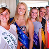 Christopher Aune | The Herald-Tribune<br /> Franklin County Fair Queen Emma Stern (from left) and her court presented ribbons at several events. Also working hard at the Brookville fairgrounds this week are first runner-up Megan Hensley, second runner-up Kyrstyn Eilerman, third runner-up Kayla Watterson and  Miss Congeniality Liz Bachus.