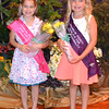 Diane Raver | The Herald-Tribune<br /> Princess Rachel Ruf and Miss Personality Campbell Meier were all smiles after being crowned.
