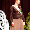 Will Fehlinger | The Herald-Tribune<br /> Alexa Brehm models professional wear during the pageant's first portion.