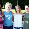Will Fehlinger | The Herald-Tribune<br /> Queen candidates (from left) Alexa Brehm, Grace Moster, Ingrid Miller and Clare Weidner got to know each other during meetings before the pageant.