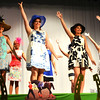 Debbie Blank | The Herald-Tribune<br /> During the pageant's opening dance, contestants wore fancy hats to tie in with the Kentucky Derby theme.