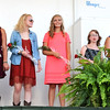 Debbie Blank | The Herald-Tribune<br /> Baylee Dwenger (from left), Julia Weber, Lauren Album, Michaela Hartman, Sidney Lecher, Lacy Engelking and Shelby Hiltenbeitel were in the running for 4-H Junior Leaders queen.