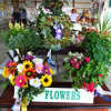 Debbie Blank | The Herald-Tribune<br /> In the flowers category, the arrangement (top center) of Morris Shamrocks member Jacquie Ferkinhoff was judged Grand Champion and the one (front left) by Faithful Workers member Lacy Engelking was named Reserve Champion.