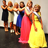 Debbie Blank | The Herald-Tribune<br /> Carah Beck (from right) is welcomed to the sisterhood of Ripley County queens: Savannah Kern, 2015; Ashley Moore, 2014; Katie Huffman, 2013; Michaela Grunkemeyer, 2012; and Sarah Wenning, 2011.