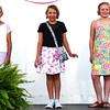 Debbie Blank | The Herald-Tribune<br /> Jac-Cen-Del Elementary School fourth-grader Julia Meyer (from left), Batesville Intermediate School fourth-grader Lydia Sarringhaus and Sunman-Dearborn Middle School fifth-grader Josie Hartman entered Junior Division sewing projects. Meyer was judged Grand Champion and Hartman Reserve Grand Champion Sunday.