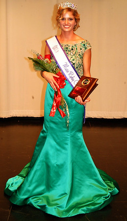 Debbie Blank | The Herald-Tribune<br /> The hazel-eyed blonde royal is looking forward to her senior year and one more milestone – representing the county at the Indiana State Fair Queen Pageant at the Indianapolis fairgrounds Jan. 5-7, 2018. Then she plans to major in elementary education at Purdue University.