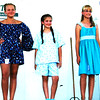 Debbie Blank | The Herald-Tribune<br /> Sewing Junior Division fifth-grade entrants were (from left) Julia Meyer, Jac-Cen-Del; Emilee Knueven, Milan; Rhea Miller, St. Louis; Kinsey Rohls,  Jac-Cen-Del; and Elizabeth Powell, Sunman-Dearborn.