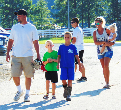 Diane Raver | The Herald-Tribune<br /> Families enjoyed the beautiful weather at the fairgrounds July 17.