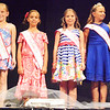 Diane Raver | The Herald-Tribune<br /> 2017 Little Miss Ripley County Callie Comer (right) was joined by first runner-up Brianna Sams, second runner-up Sophie Volz and third runner-up Mallory Hunter to be part of the July 15 Ripley County Queen Pageant as well. The 2018 Little Miss Ripley court was chosen later.