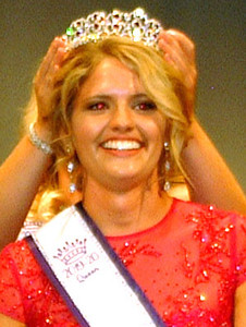 Diane Raver | The Herald-Tribune Ripley County Queen Heidi Speer is crowned.