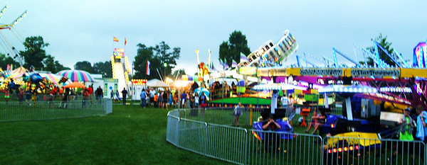 Christopher Aune | The Herald Tribune It was bright colors and flashing lights at the Ripley County fair.