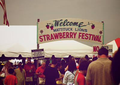 2010 Strawberry Festival, Mattituck, NY.