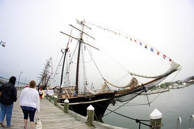 Tall Ships Festival 2012 at Greenport, New York.