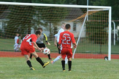 FHS Soccer v. LW 8-25-10