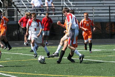 JV Boys Soccer v. Normandy