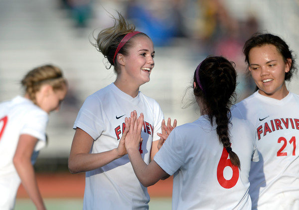 Fairview vs Douglas County Girls Soccer