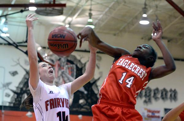 Fairview vs Eaglecrest Girls Hoops