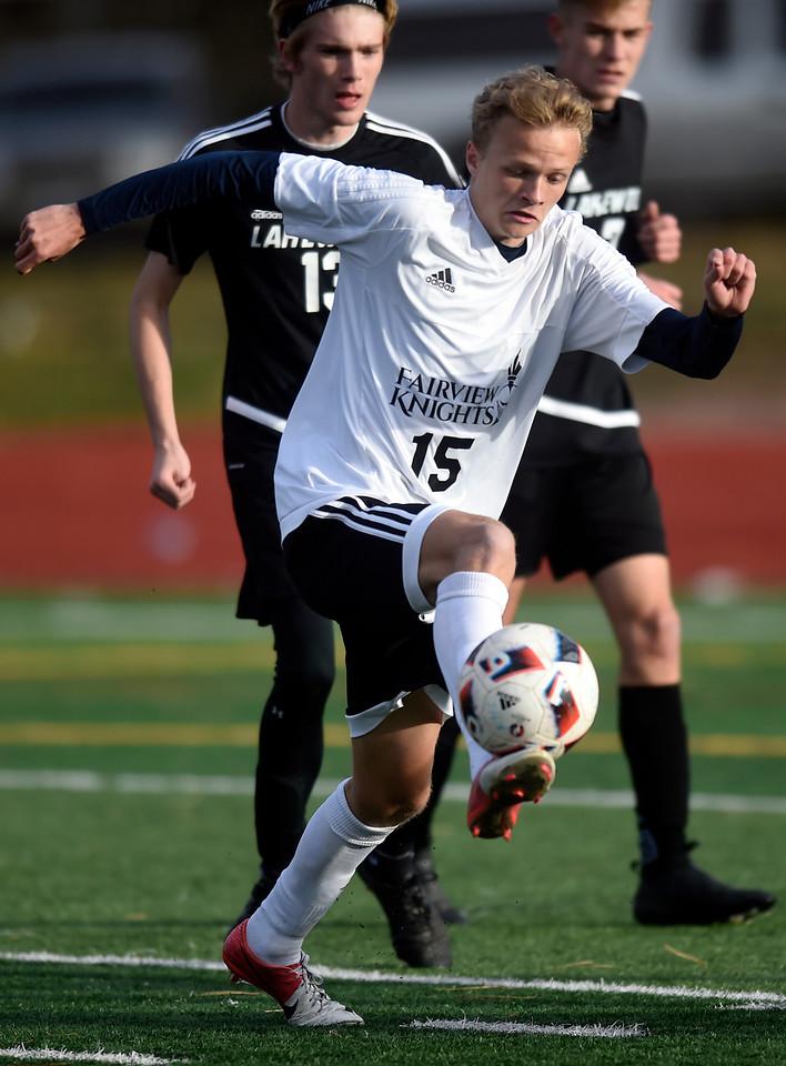 Fairview vs Lakewood Boys Soccer