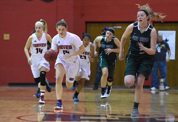 Fairview vs Pine Creek Girls Basketball