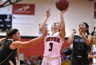 Fairview vs Pine Creek Girls Hoops