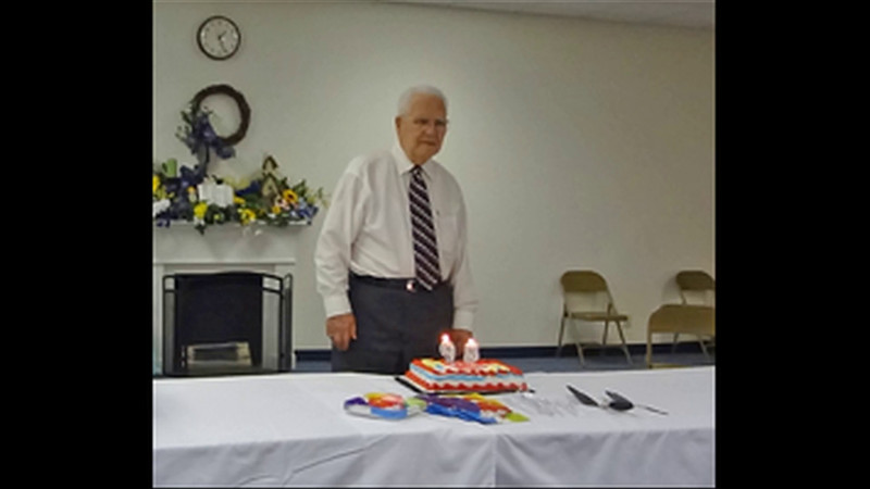B.J. Robinson's 95th Birthday 6:27 SLIDE SHOW