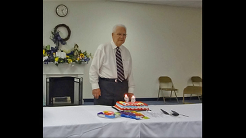 B. J. ROBINSON'S 95TH BIRTHDAY 6:21 SLIDE SHOW