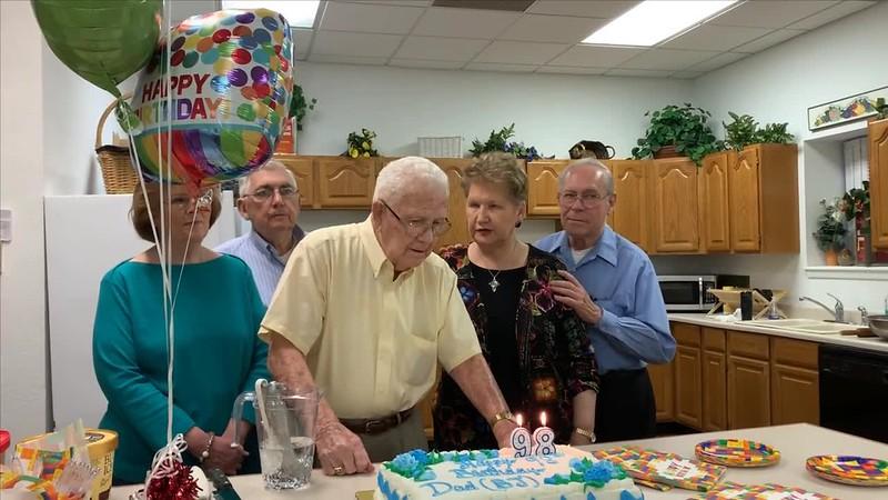 B. J. Robinson 98th Birthday
