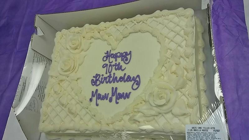 Mattie Miller's 90th Birthday