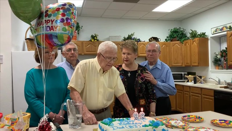 B. J. Robinson 98th Birthday