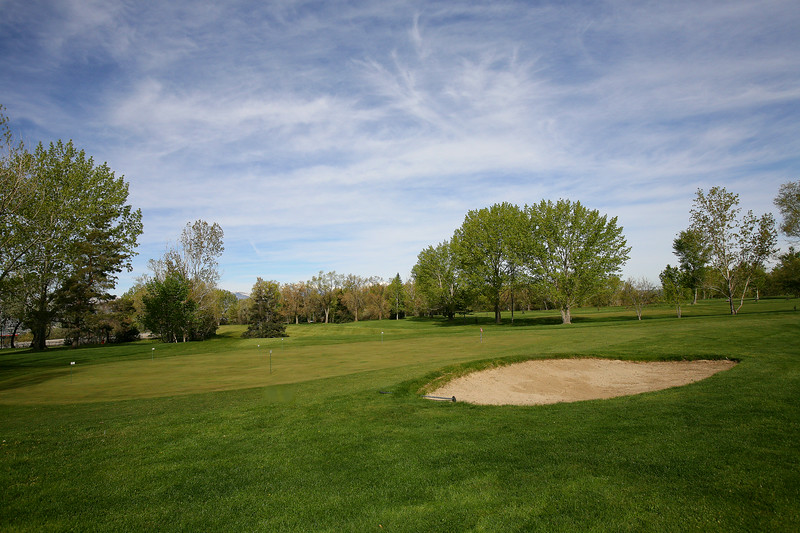 2nd Practice Green For Chipping & Pitching With Sand