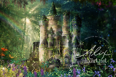 The Woodland Fairy Castle