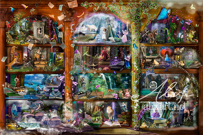 enchanted fairytale library