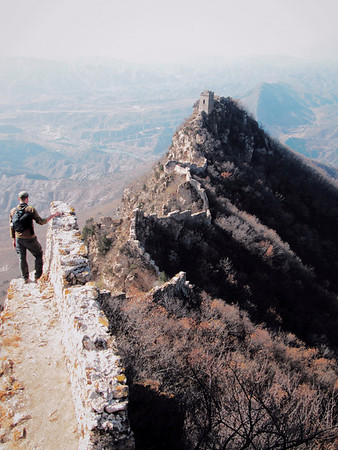 Fairy tower great wall