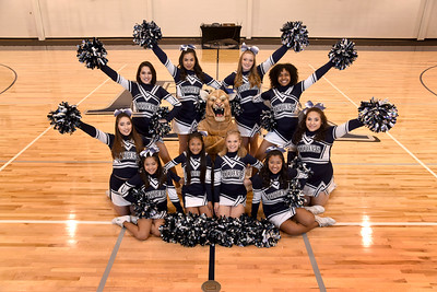 Faith Academy Cheerleaders