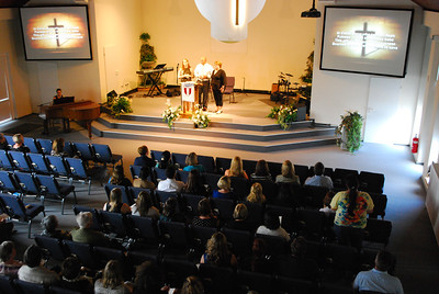 Bob Meacham Memorial Service and Reception at FBC 21 May 2014