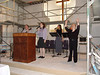 Praise and Worship Team during the Renovation