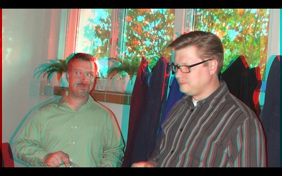 Pastor Jan Horak in Anaglyph Stereo