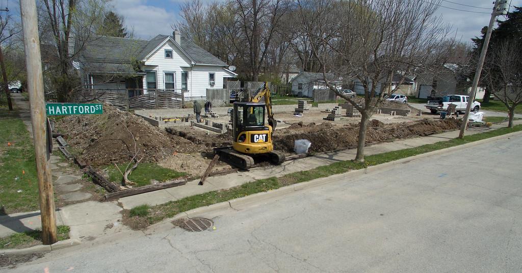 Hartford Hub Construction