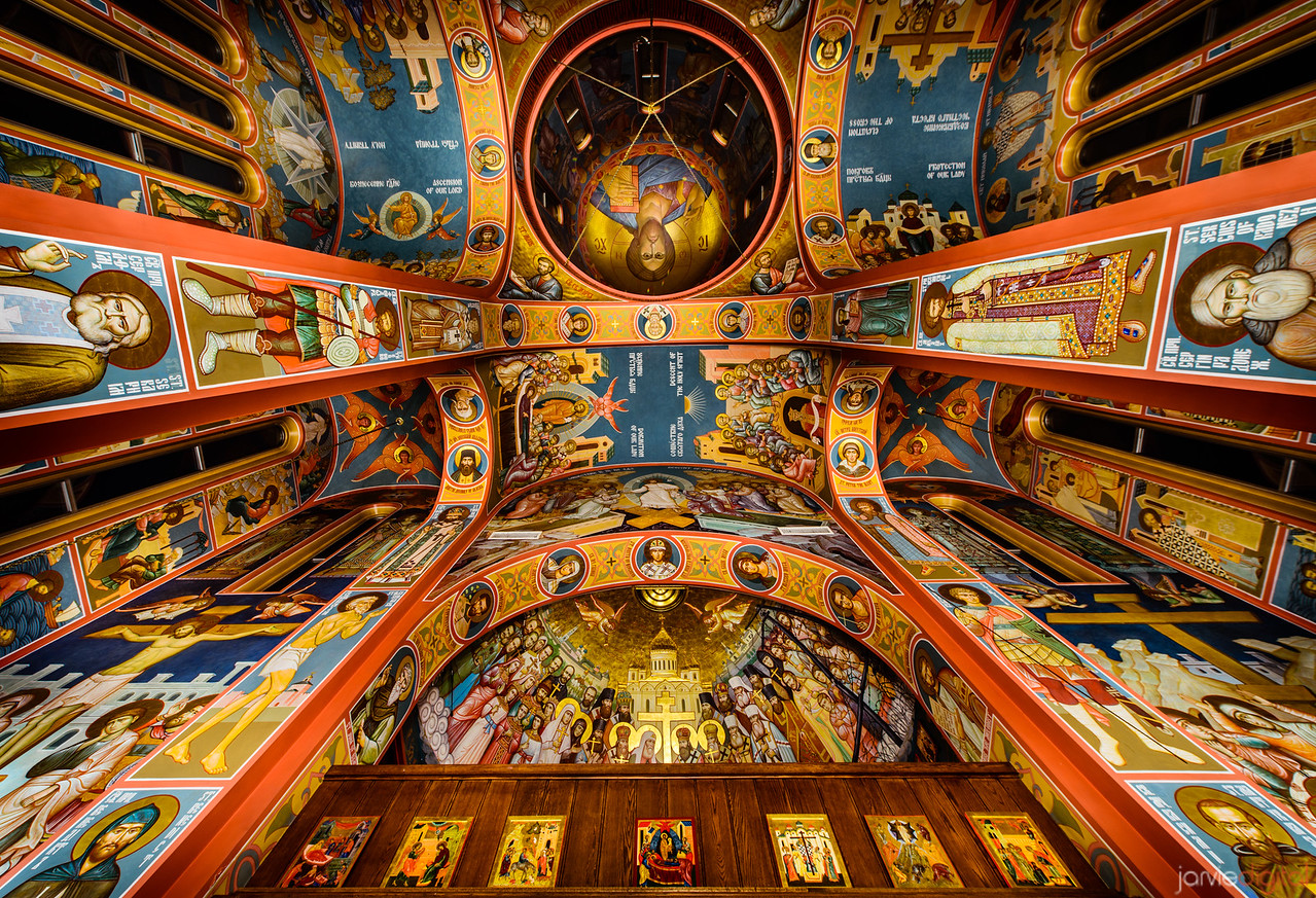 russian orthodox ceiling