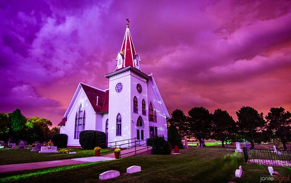 Lightning Church - Horizontal