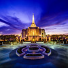 Gilbert Temple Purple Skies