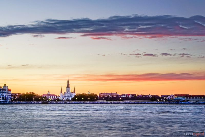 New Orleans from across the river