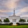 Columbus Ohio Temple Straight On