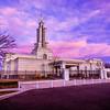 Lubbock Temple Front Left Sunrise